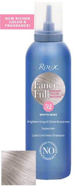 Roux Fanci-full White Minx 52 Mousse 6 oz