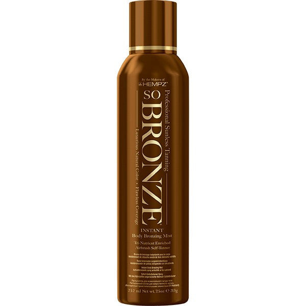 Hempz So Bronze Instant Body Bronzing Mist 7.5 oz