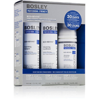 Bosley Revive Starter Pack for Non Color Treated Hair