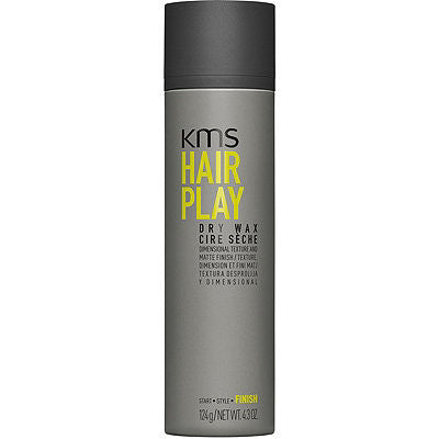 KMS Hair Play Dry Wax 4.3 oz