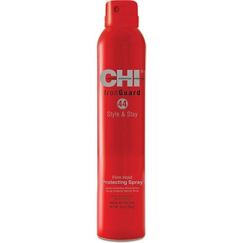 Chi 44 Iron Guard Style And Stay Firm Hold Protecting Spray 10 oz