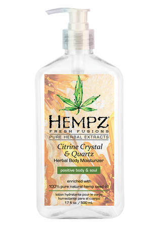 Hempz Citrine Crystal & Quartz Herbal Body Moisturizer