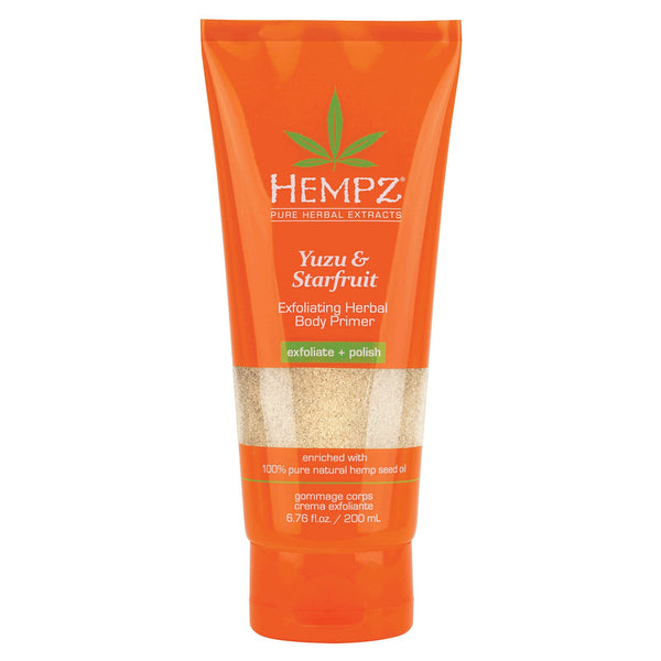 Hempz Yuzu & Starfruit Exfoliating Herbal Body Primer 6.76 oz