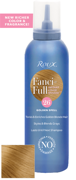 Roux Fanci-full Golden Spell 26 Mousse 6 oz