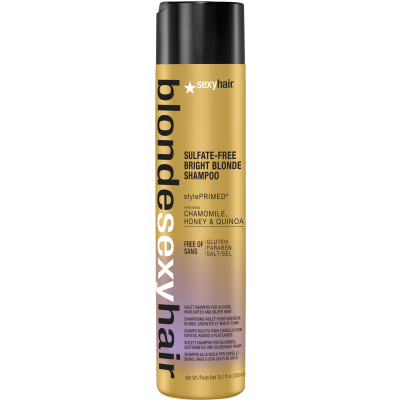 Blonde Sexy Sulfate-Free Bright Blonde Violet Shampoo 10.1 oz