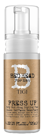Tigi Bedhead 4 Men Press Up Body Building Style Foam 4.22 oz