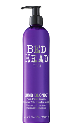 Tigi Bedhead Dumb Blonde Purple Toning Shampoo 13.5 oz