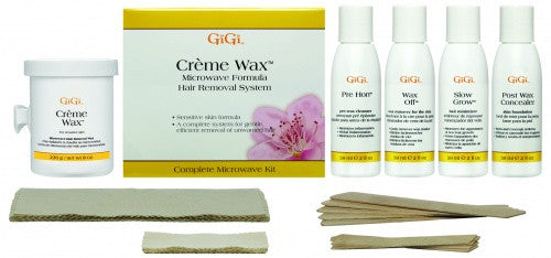 Gigi Creme Microwave Wax Kit