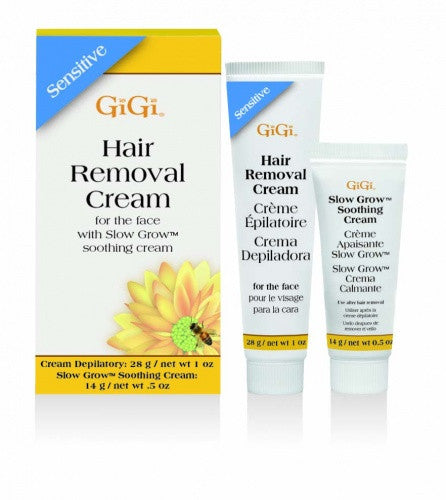 Gigi Sensitive Hair Removal Cream For Face 1 oz