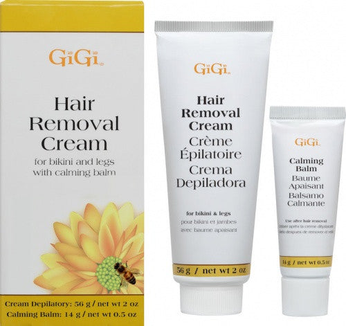 Gigi Hair Removal Cream for Bikini & Legs 2 oz