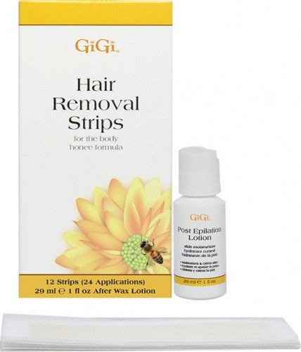 Gigi Hair Removal Strips For The Body 12 count