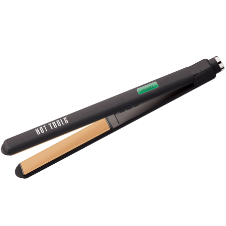 "Hot Tools 1"" Flat Iron – Extra-Long Plates"