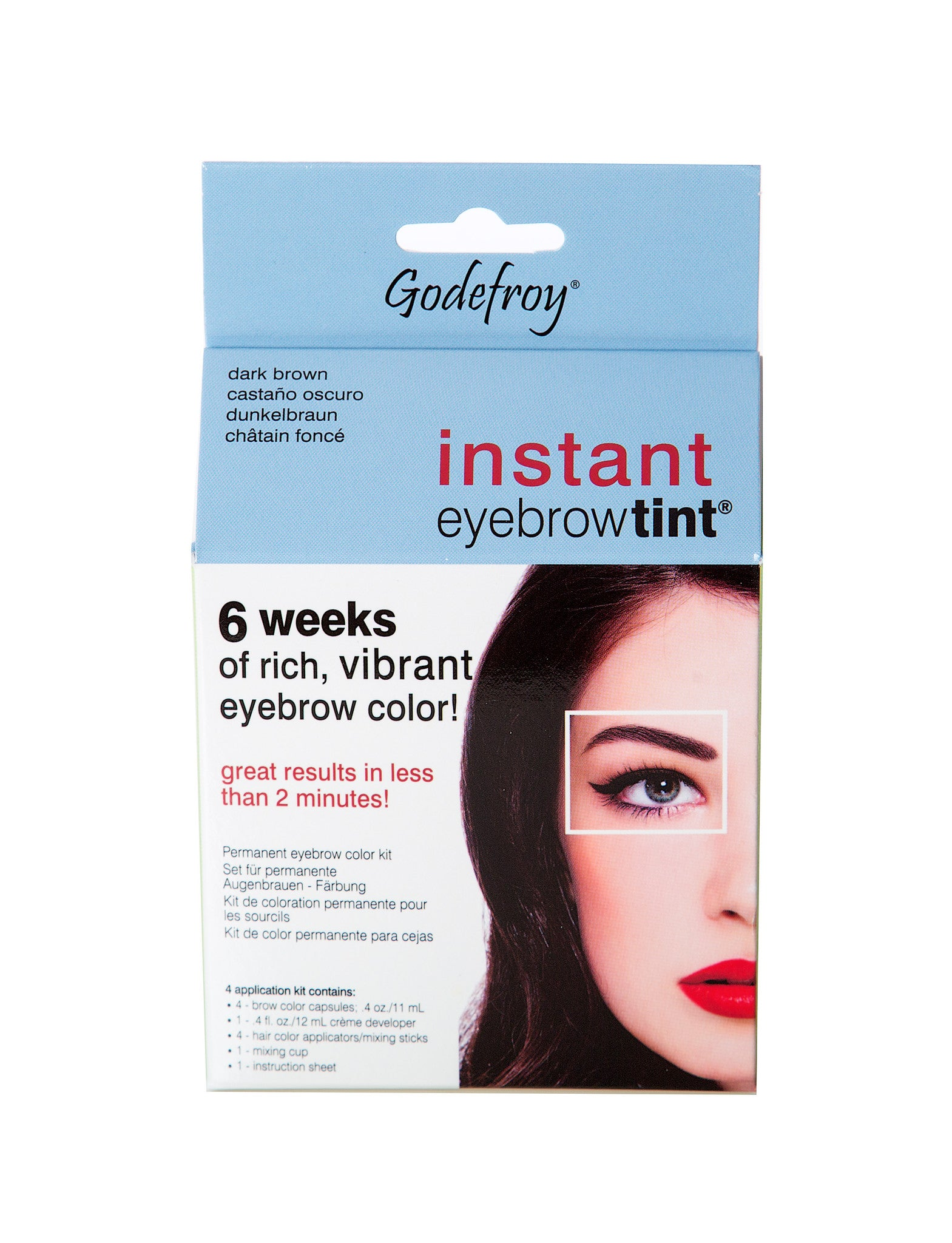 Godefroy Instant Eyebrow Tint Nw Beauty Supply Salon