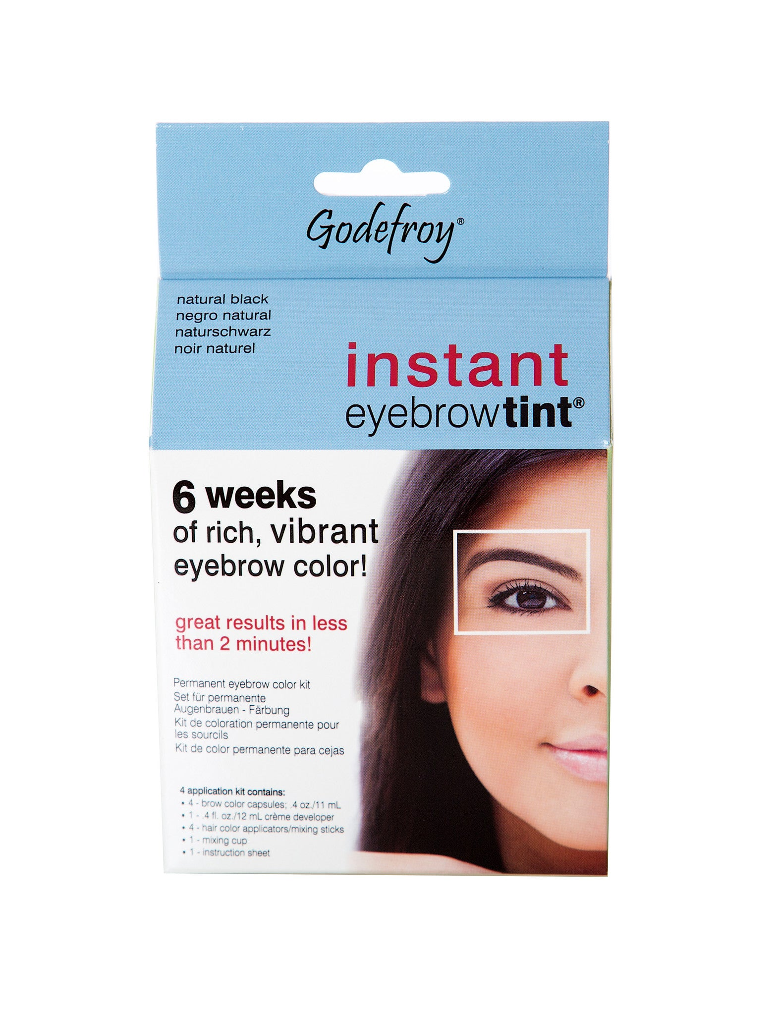 Godefroy Instant Eyebrow Tint NW Beauty Supply & Salon