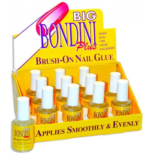 Bondini Brush-On Nail Glue 0.5 oz