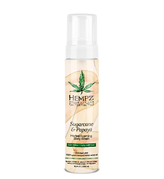 Hempz Sugarcane & Papaya Body Wash 8.5oz