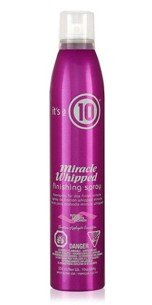 It's A 10 Miracle Whipped Finishing Spray 10 oz