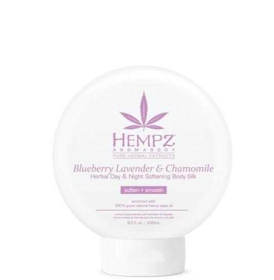 Hempz Blueberry Lavender & Chamomile Herbal Day & Night Softening Body Silk 8.5 oz