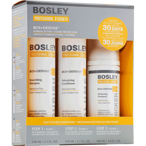 Bosley Defense Starter Pack for Color Treated Hair