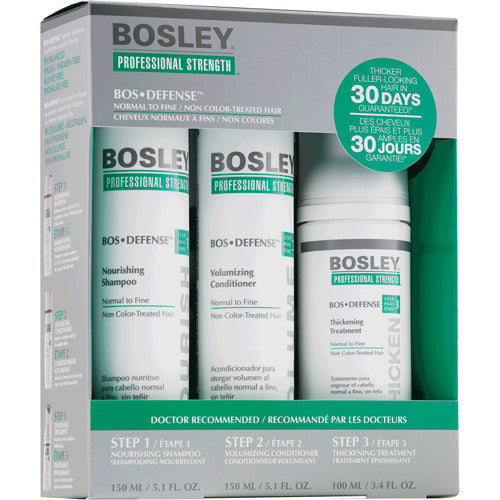 Bosley Defense Starter Pack for Non Color Treated Hair