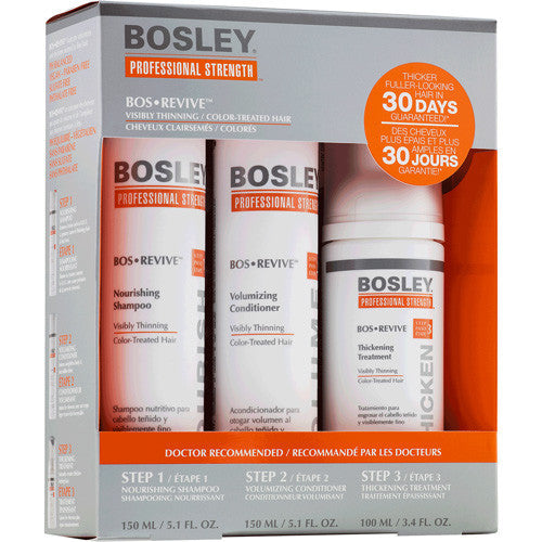 Bosley Revive Starter Pack for Color Treated Hair