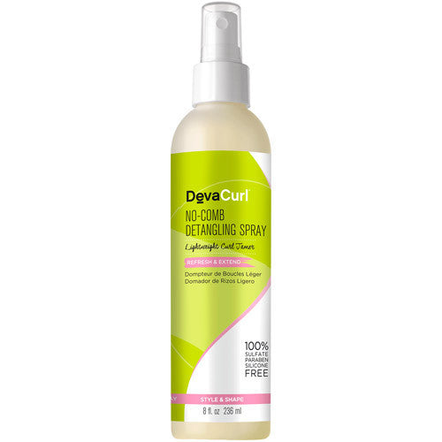 Deva Curl No-Comb Detangling Spray 8 oz
