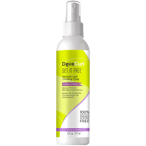 Deva Curl Set It Free Moisture Lock Spray 6 oz