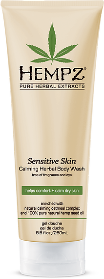 Hempz Sensitive Skin Calming Herbal Body Wash 8.5 oz