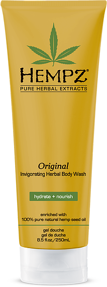 Hempz Original Invigorating Herbal Body Wash 8.5 oz