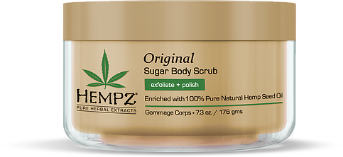 Hempz Original Herbal Sugar Body Scrub 7.3 oz