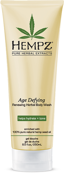 Hempz Age Defying Renewing Herbal Body Wash 8.5 oz
