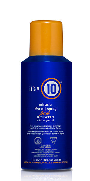 It's A 10 Miracle Dry Oil Spray Plus Keratin 5 oz
