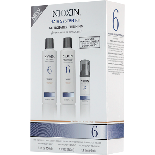 Nioxin System 6 Boxed Kit