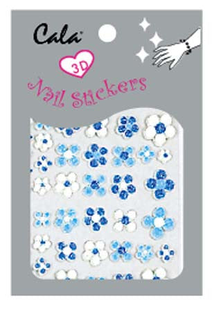 Cala 3-D Flowers Nail Art Sticker