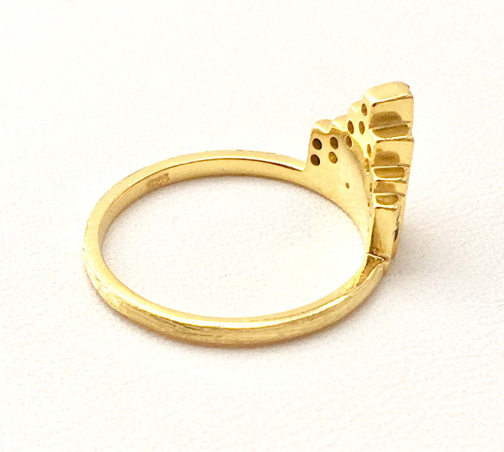 Maiden Ring in Gold