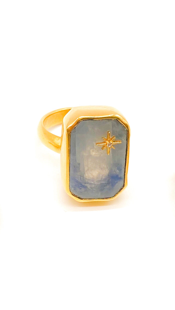 Moon Star Ring