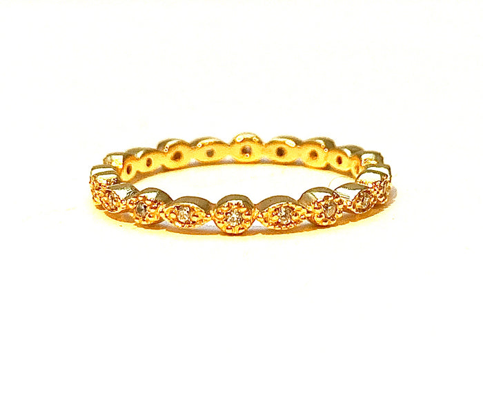 Love to Infinity Ring in Gold