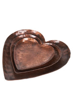 LUXE HEART SET - COPPER