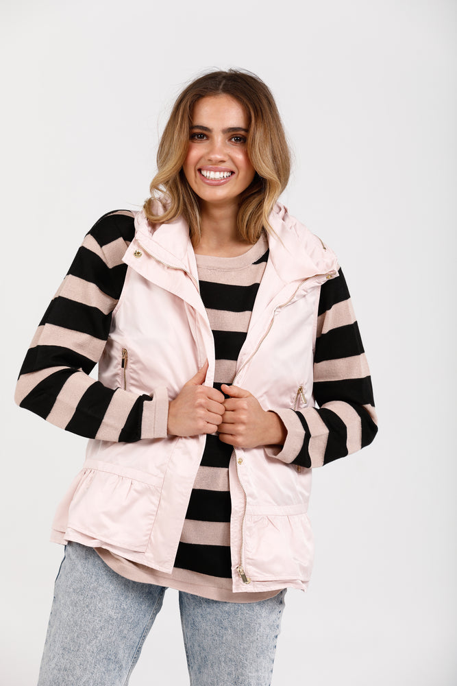DANBURY VEST - BLUSH