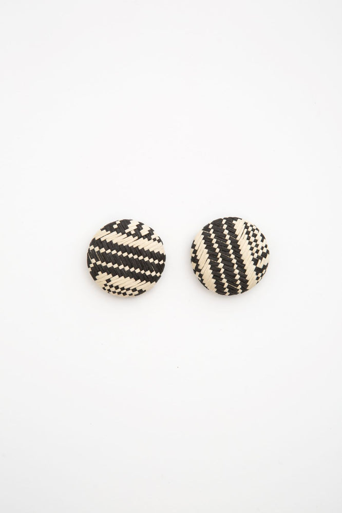 SAFFEL EARRINGS BLACK