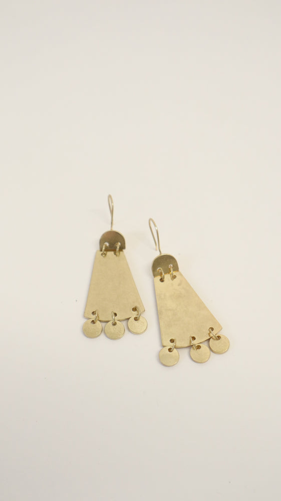 LIRA EARRINGS - GOLD
