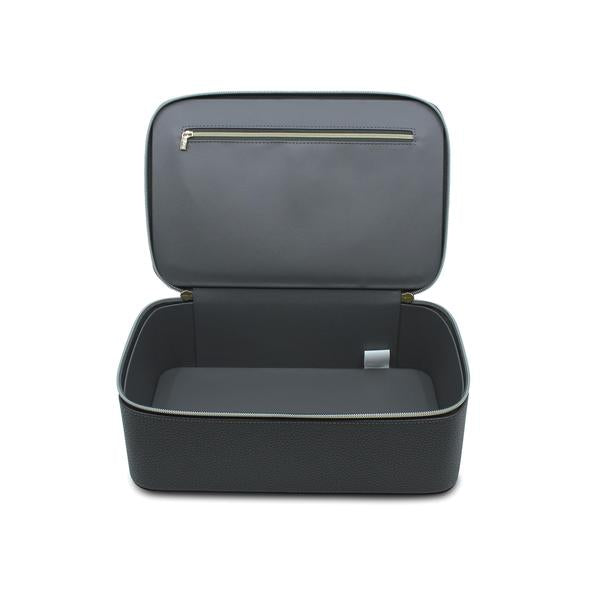 LUXE MAKEUP BAG - CHARCOAL