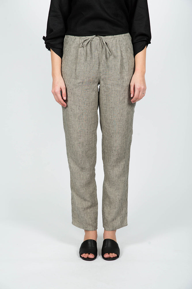 LINEN PANTS SHADOW