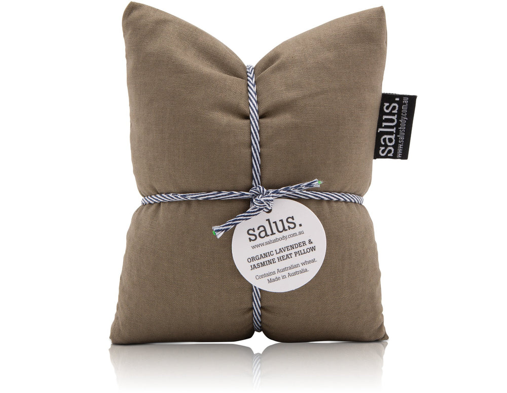 LAVENDER & JASMINE HEAT PILLOW - OLIVE