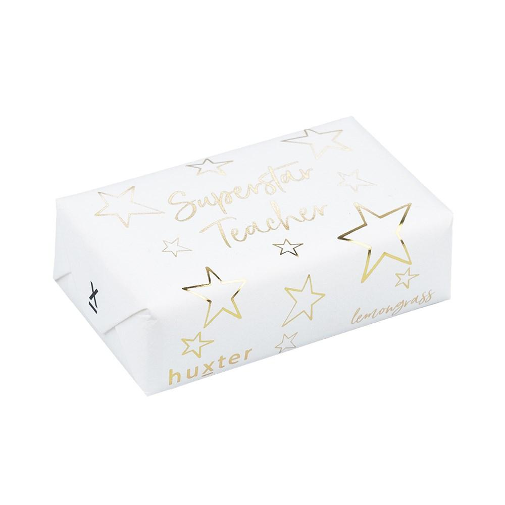 SUPER STAR TEACHER SOAP - GOLD FOIL