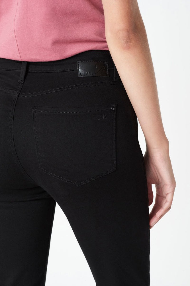 SCARLETT SUPER HIGH RISE SKINNY JEAN - DOUBLE BLACK SUPERSOFT