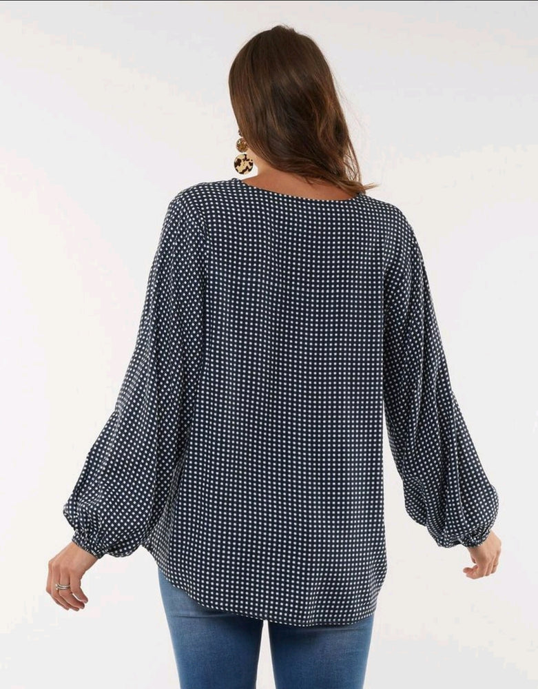 CHECK IT OUT BLOUSE