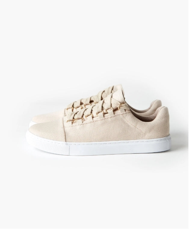 HARRIS CANVAS SNEAKER - SAND