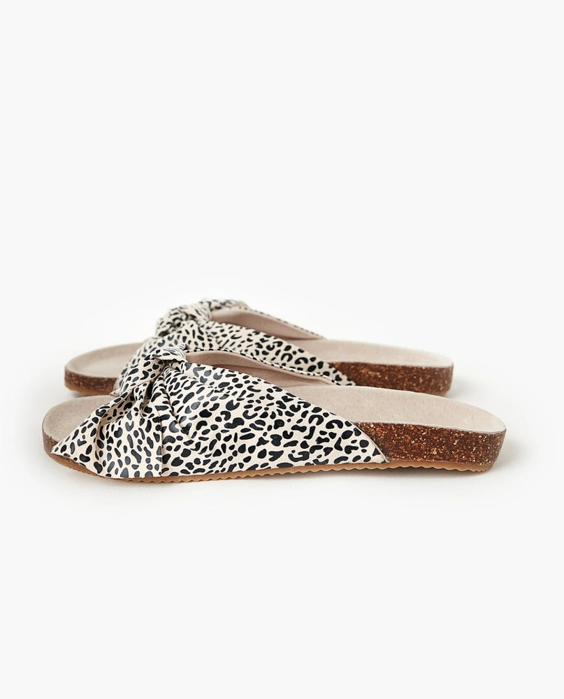 SOMERSET BOW SLIDE - LEOPARD