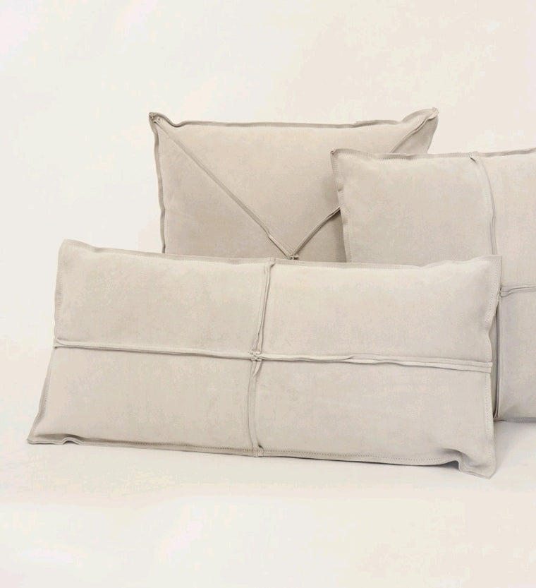 LEXINGTON CUSHION - ECRU RECTANGLE